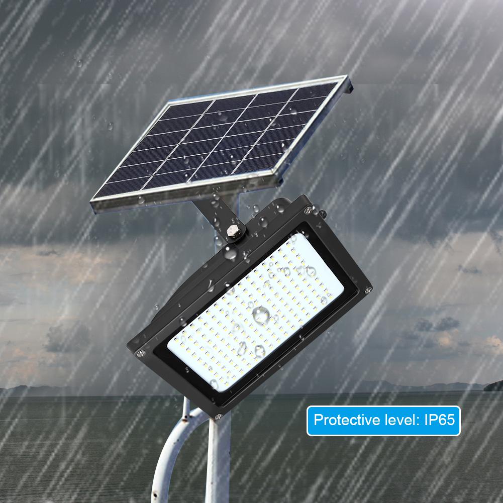 solar 150 led solarleuchte solarlampe flutlicht mit. Black Bedroom Furniture Sets. Home Design Ideas
