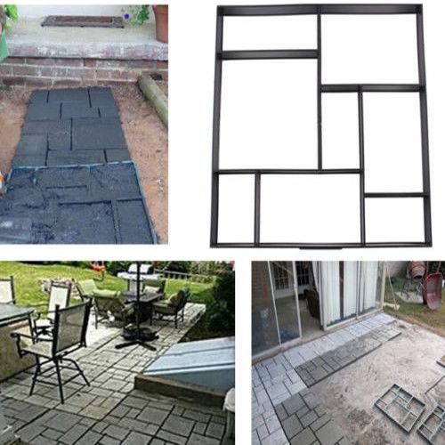 pflastersteinformen f r 8 pflastersteine schalungsform. Black Bedroom Furniture Sets. Home Design Ideas