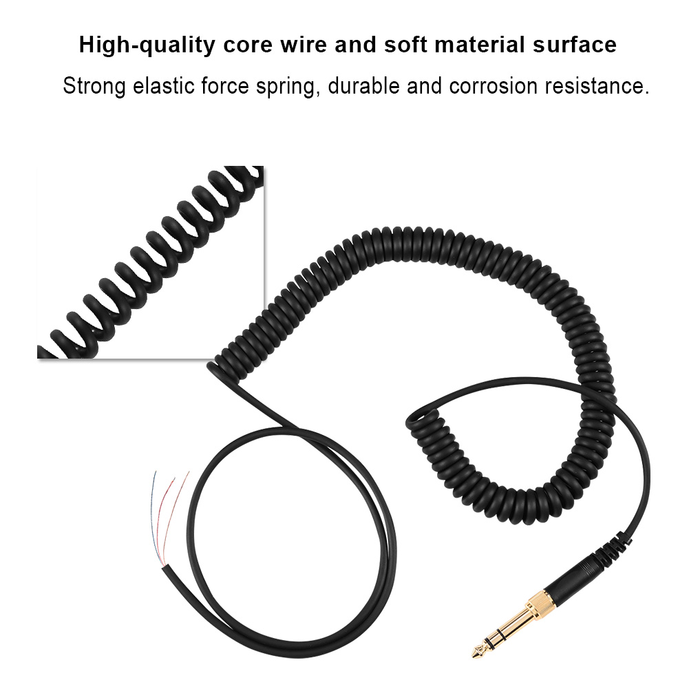 replacement cable cord wire plug for beyerdynamic dt 220 770 880 990 headphones 826964440498