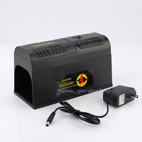 New Electronic Mouse Rat Rodent Killer Electric Trap