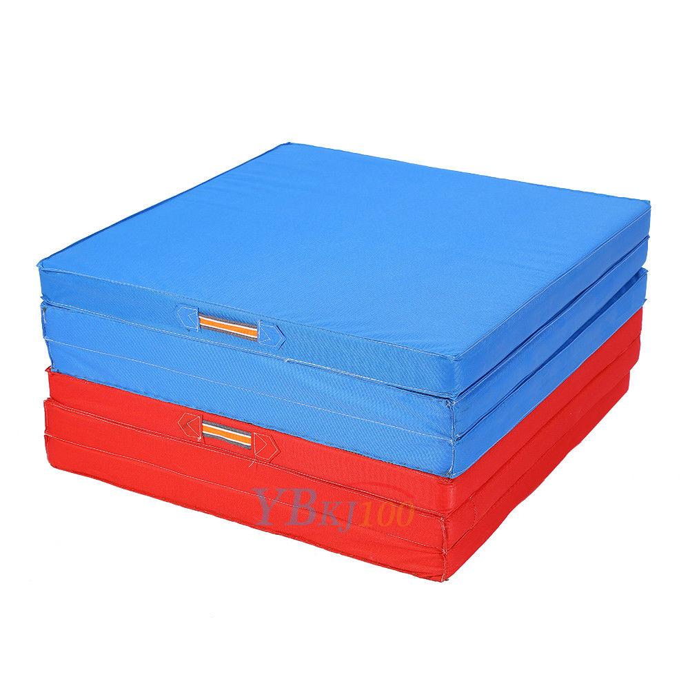 Foldable Gym Mats Uk: 6Ft Gymnastics Gym Folding Exercise Aerobics Mats