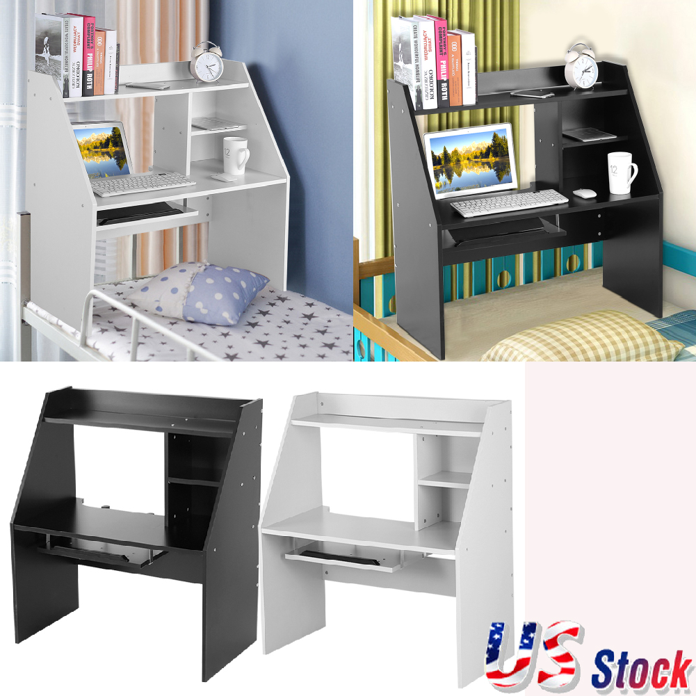 Floating Wall Mounted Desk Home Office Computer Table Bedroom ...