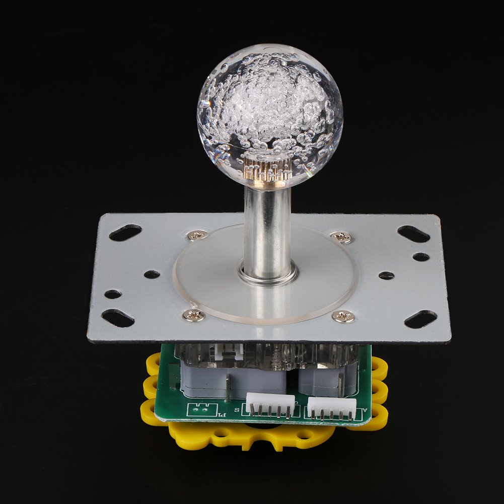Arcade Game Led Illuminated Joystick Colorful Switchable 4 8 Way Switch 2for Manual Measurement Please Allow 1 3cm Error Make Sure You Are Not Mind Before Ordering