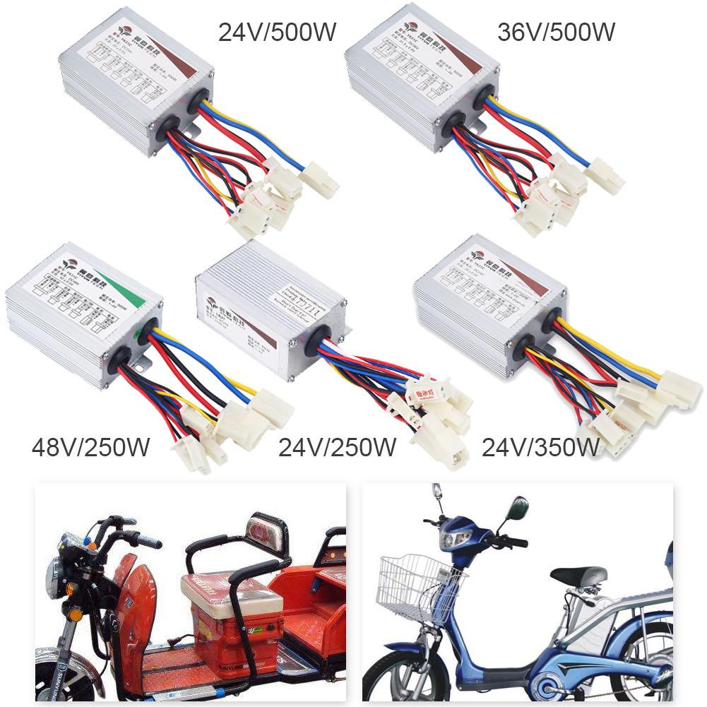 250W 24V Motor Brushed Controller Speed Control Box For E-Bike EV  Scooter