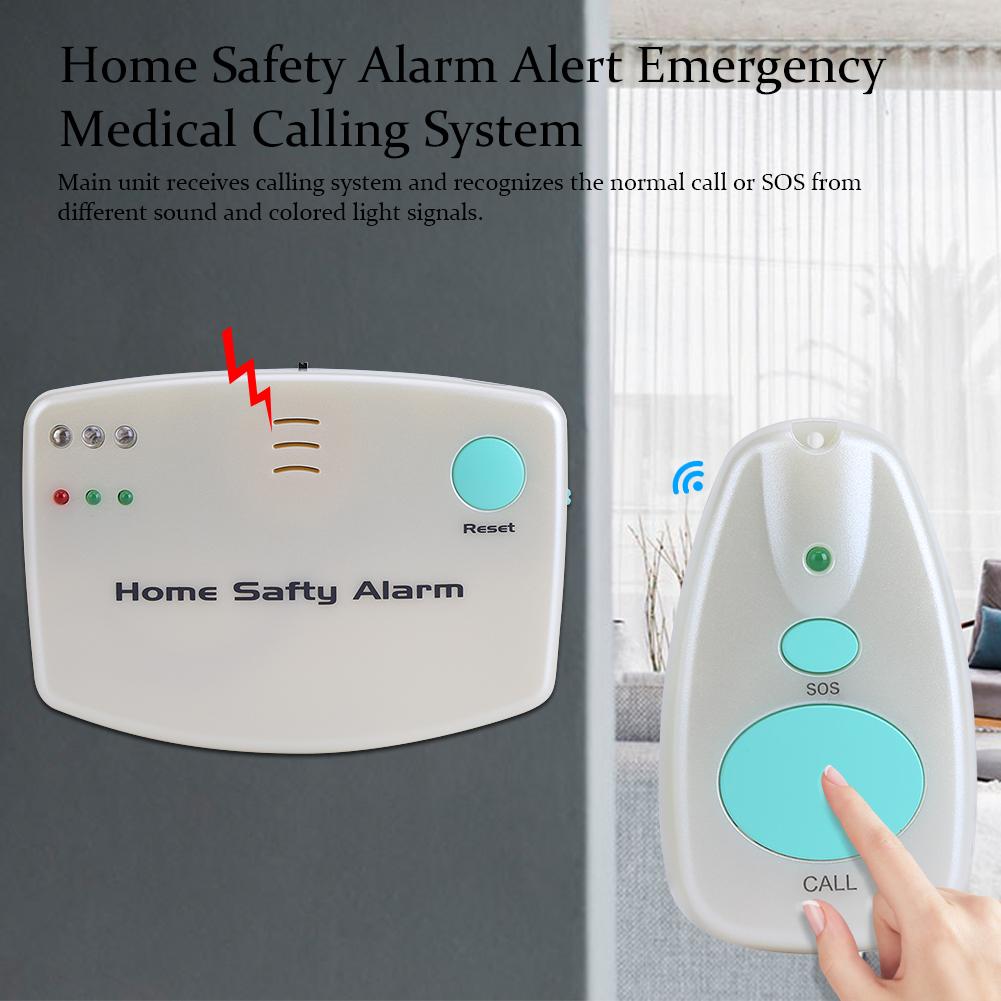 Elder Home Safety Alert Care Call System Alarm Patient Medical ...