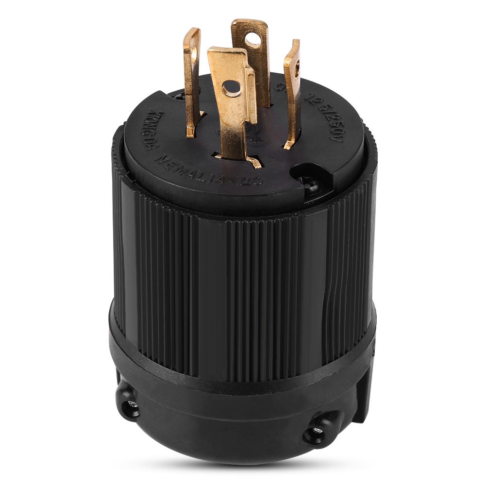NEMA L14-20R+L14-20P 20A 125/250V Plug Connector for ...