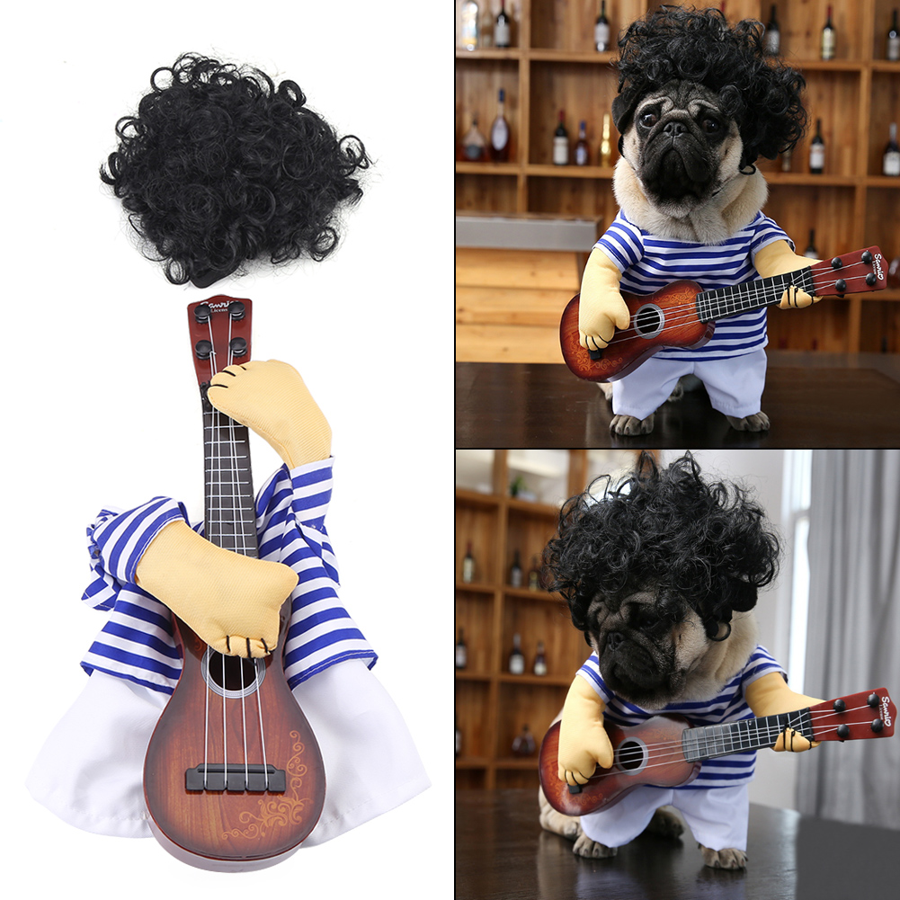 Funny Cat Dog Pet Halloween Costume Suit Puppy Prince
