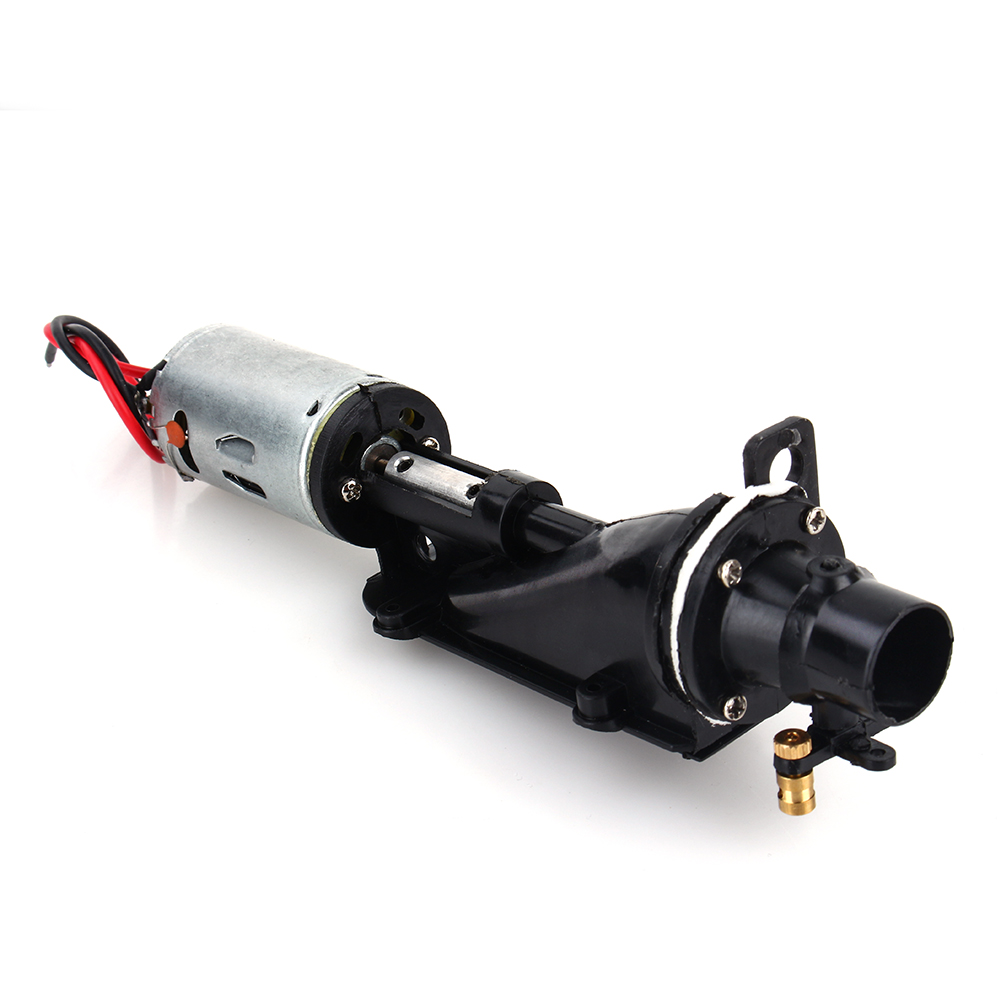 Electric Outboard Motor Kit: Hot Electric NQD 757-6024 RC 390 Boat Turbo Motor