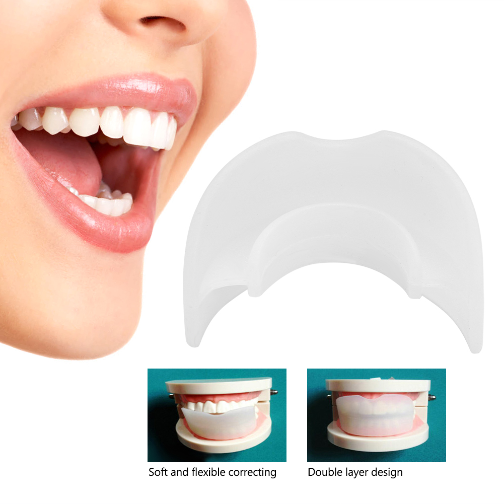 New Dental Anti Grinding Teeth Brace Double Layer Tooth Retainer ...