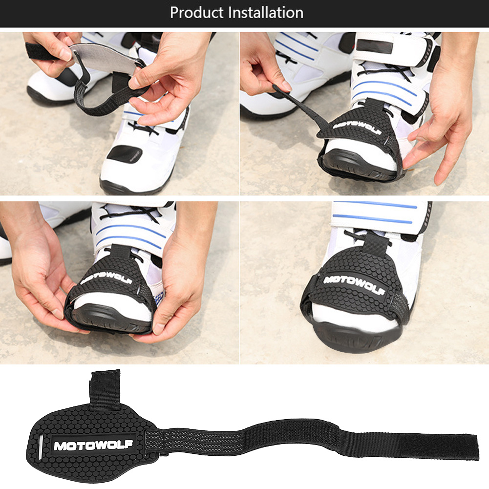 1PC Rubber Motorcycle Gear Shifter Shoe Boots Protector Shift Sock Boot Cover