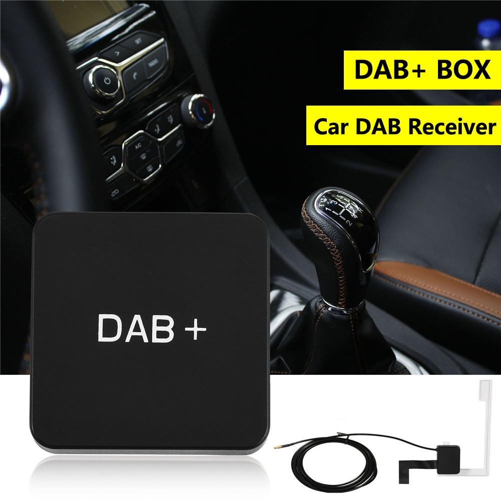 car usb digital radio dab box dab receiver mcx antenna. Black Bedroom Furniture Sets. Home Design Ideas