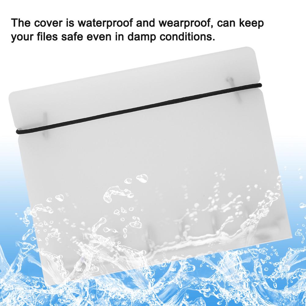 PP Cover For Notebook File Folder 6 Holes Ring Binder