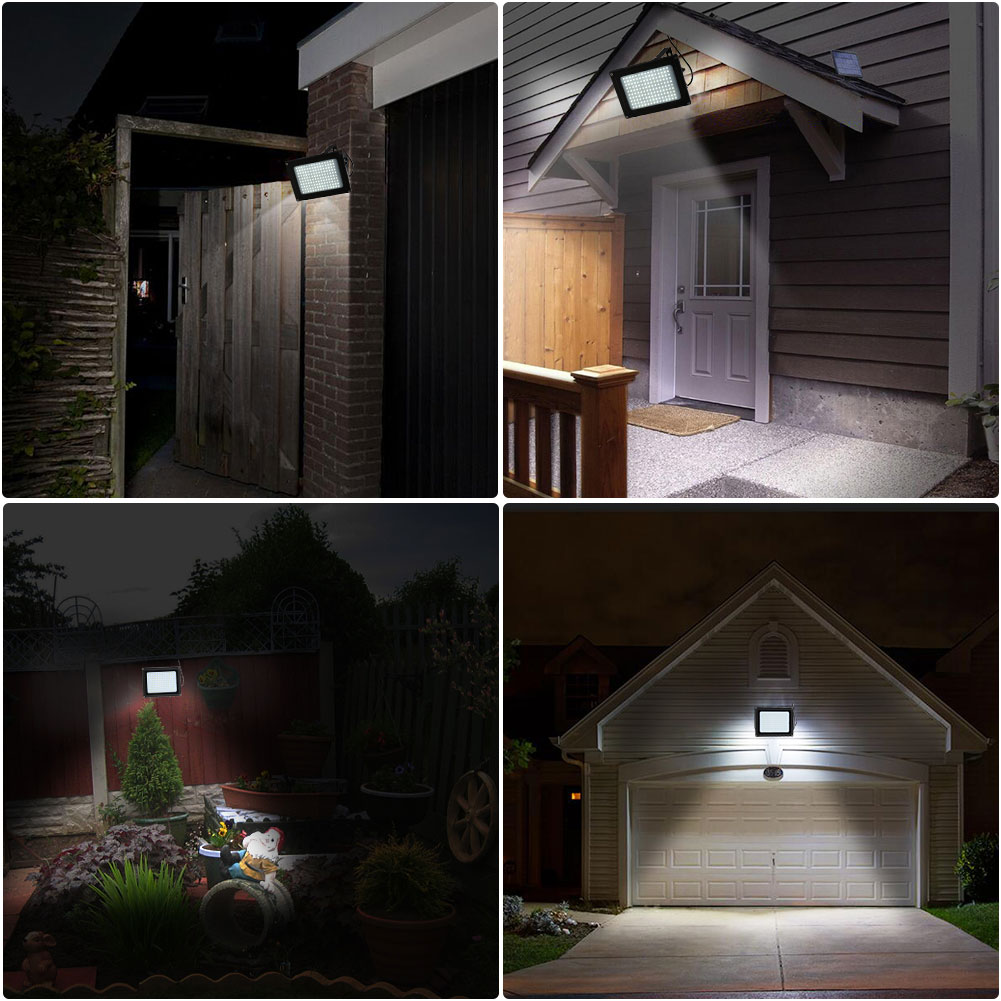 Solar Powered 150led Sensor Waterproof Outdoor Security