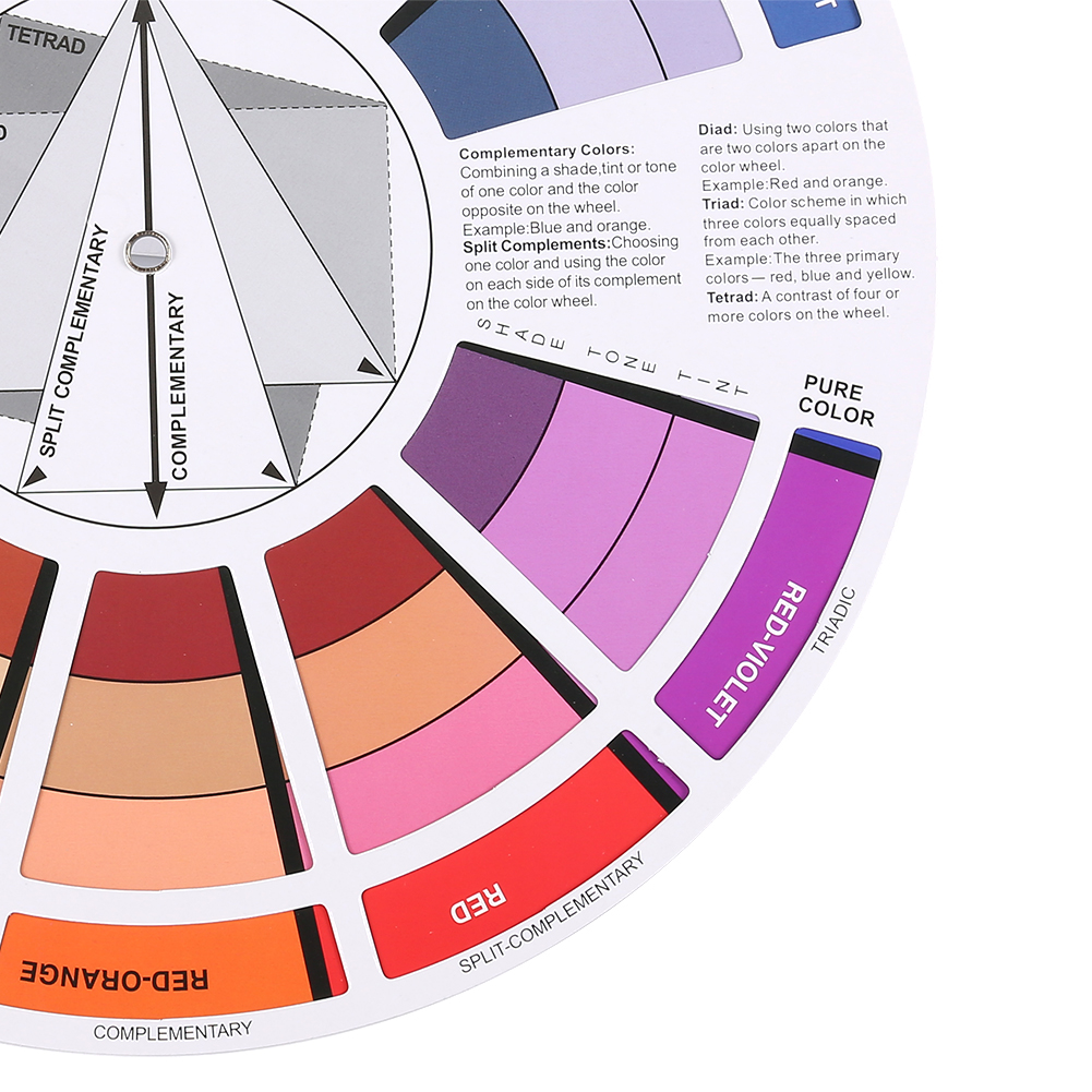 artist color wheel mixing guide