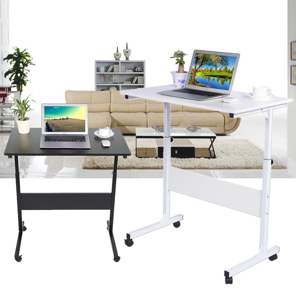 computertisch laptoptisch notebooktisch laptopst nder auf rollen verstellbar gt ebay. Black Bedroom Furniture Sets. Home Design Ideas