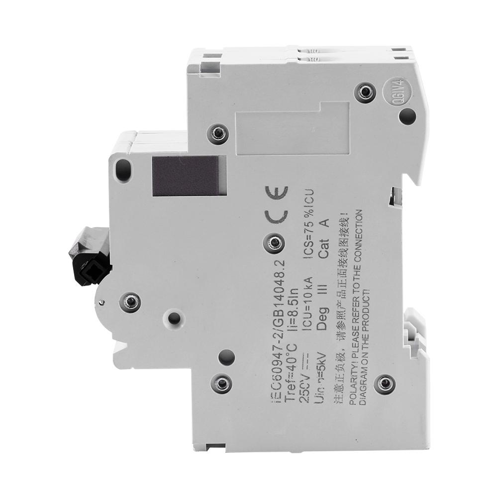 1XDC 2P 250V C65H-DC Circuit Breaker MCB PV Solar Energy Air Switch ...