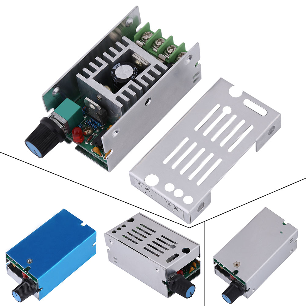 Universal Dc9-60v Motor Controller 10a Pwm Hho Dc Speed Control Switch 2018 New Arrival Home Improvement Motor Controller