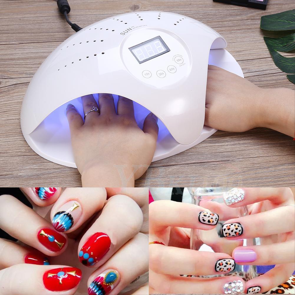 Nail Uv Led Lamp Dryer Light Nail Art Manicure Uv Gel Polish Cure W