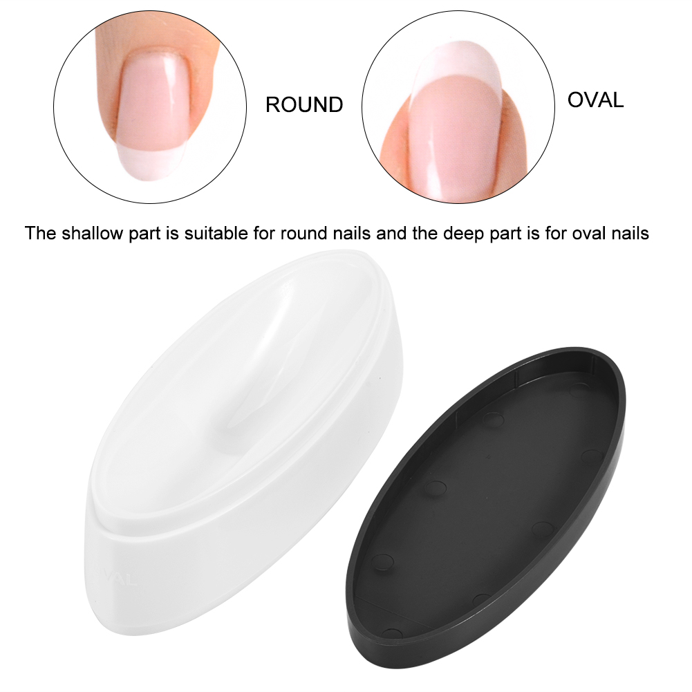 Dipping Powder French Manicure Molding Container Nail Guides Smile ...