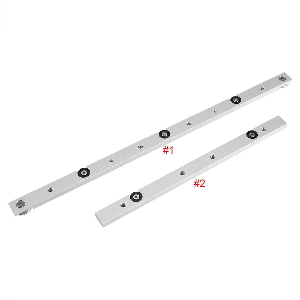 Aluminium Alloy Rail Miter Bar Slider Table Saw Gauge Rod