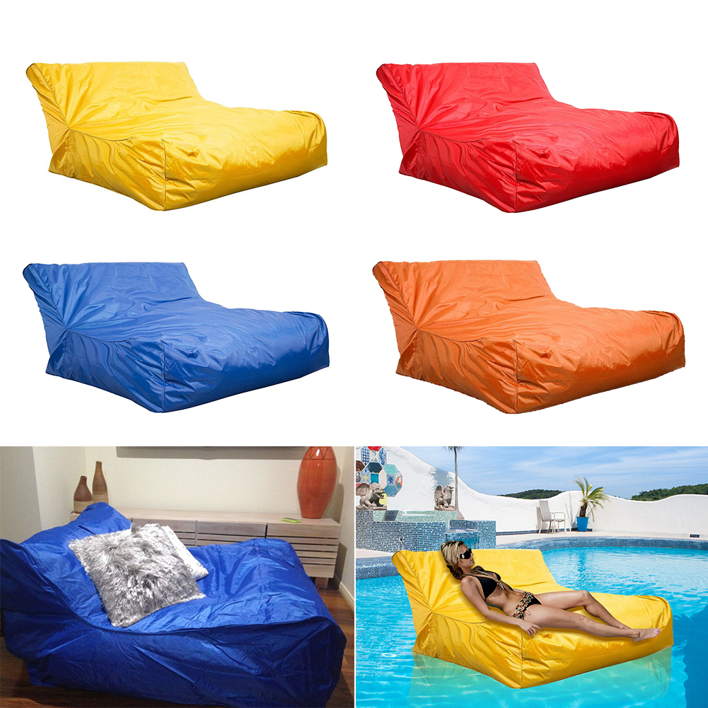 Large Bean Bag Chair Sofa Indoor/Outdoor Beanbag XXXL Waterproof BIG COVER  ONLY