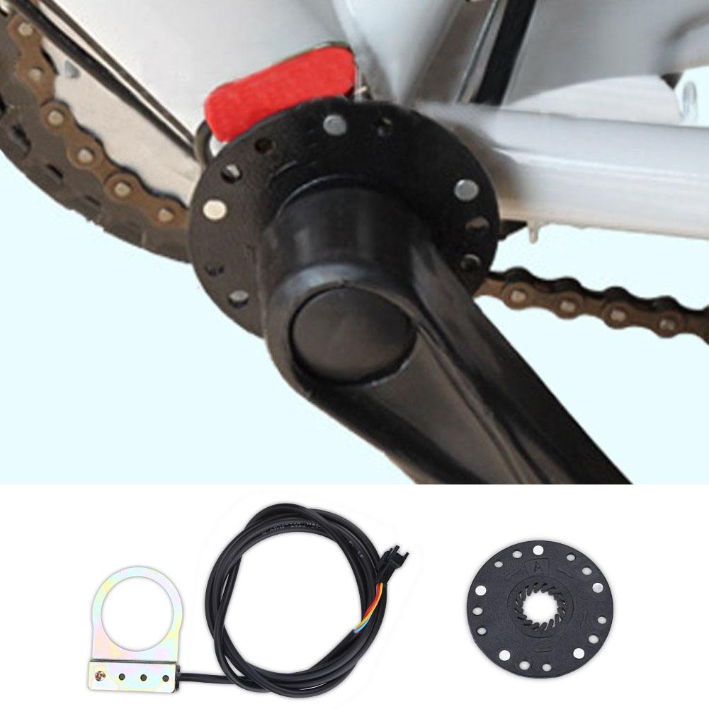 Electric Bicycle Pedal E bike PAS Pedal Assist Sensor 8 Magnets Ebike Connector