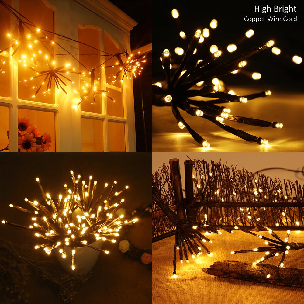 Decorative string lighting Backyard Details About 100 Led Branchshaped Decorative String Lights Lamp Diy Party Home Decor Ebay 100 Led Branchshaped Decorative String Lights Lamp Diy Party Home