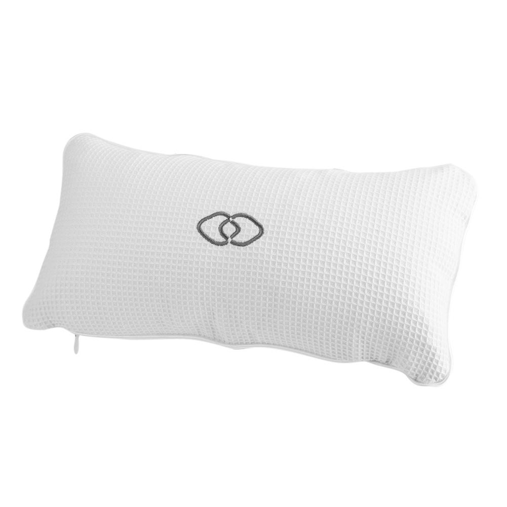 Soft Non-slip Bathtub Spa Pillow Bath Cushion w/Suction Cups Head ...