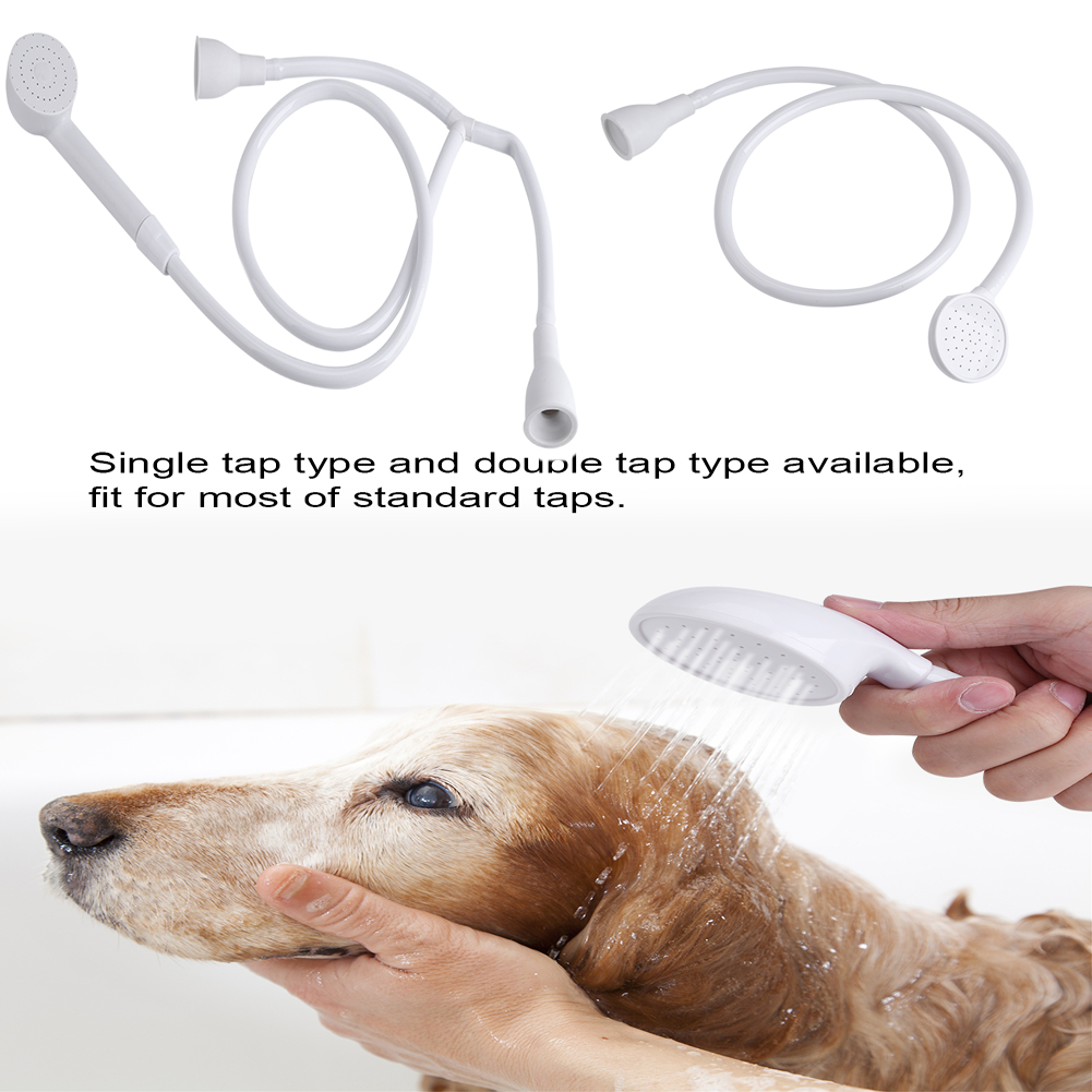 Pet Shower Head Hose Spray Bath Tub Sink Faucet Tap Fittin Washing ...