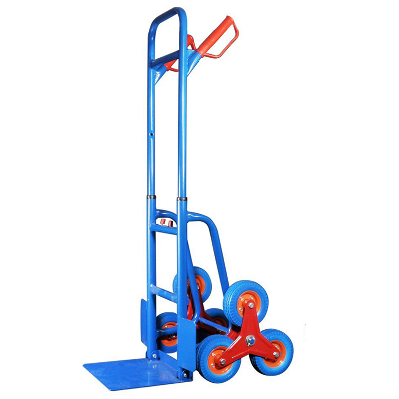 440lbs Hand Truck 6 Wheel Stair Climber Moving Dolly Cart