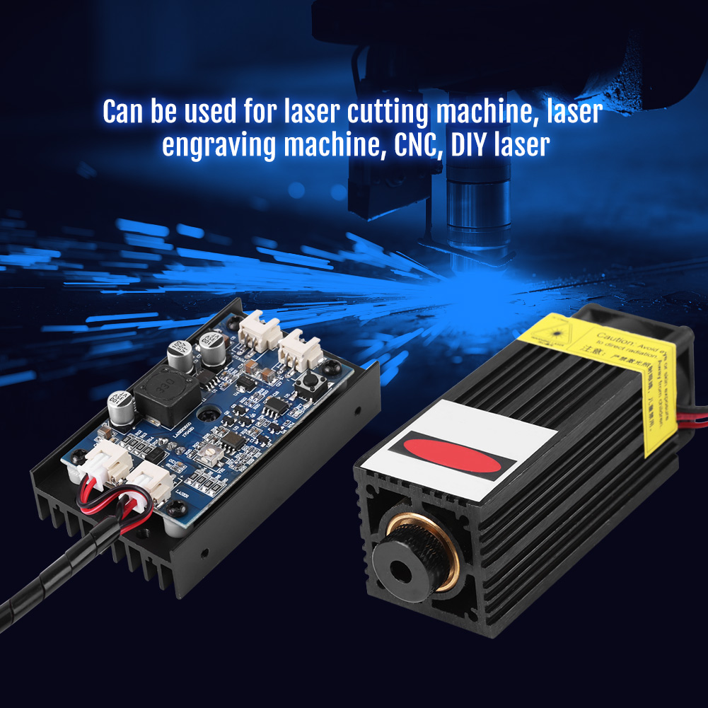 450nm 15w Blu Ray Laser Module With Ttl Pwm For Wood