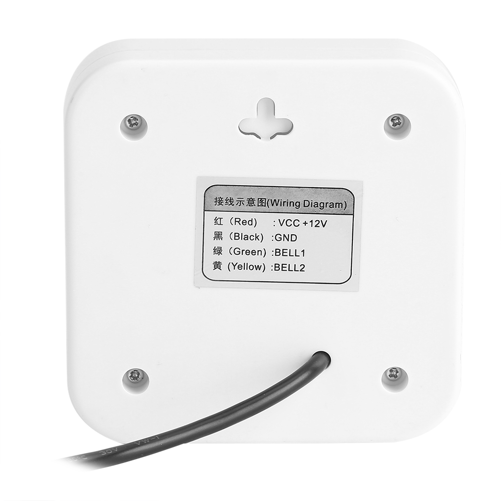 Dc12v Wired Electric Doorbell Security Jingle Bell Home Hotel Wiring Dc 12v Dy