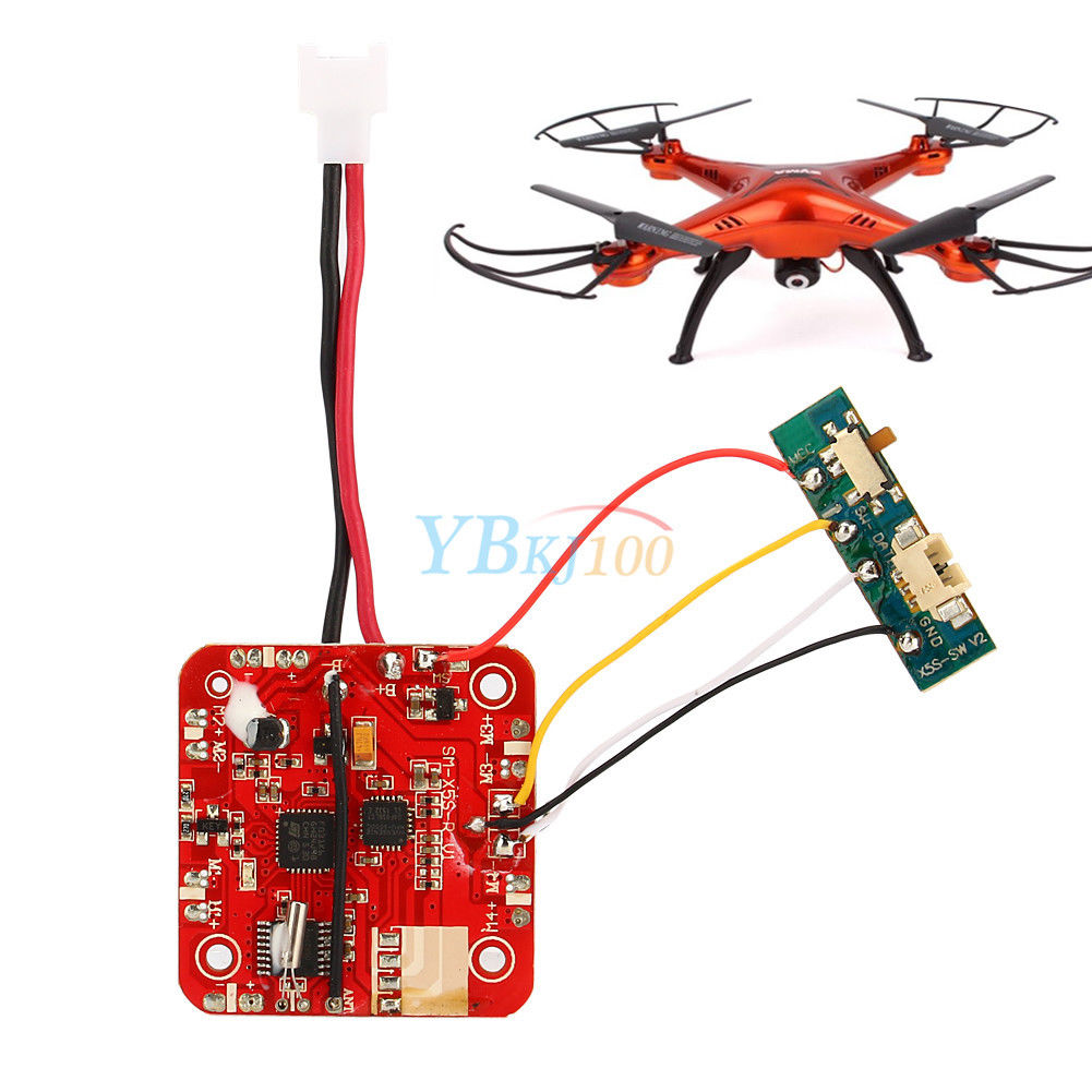 Receiver Board Circuit Pcb For Syma X5sc X5sw Rc Quadcopter Switch Pcbpcb Boardpcb Manufacturing Product Spare Parts
