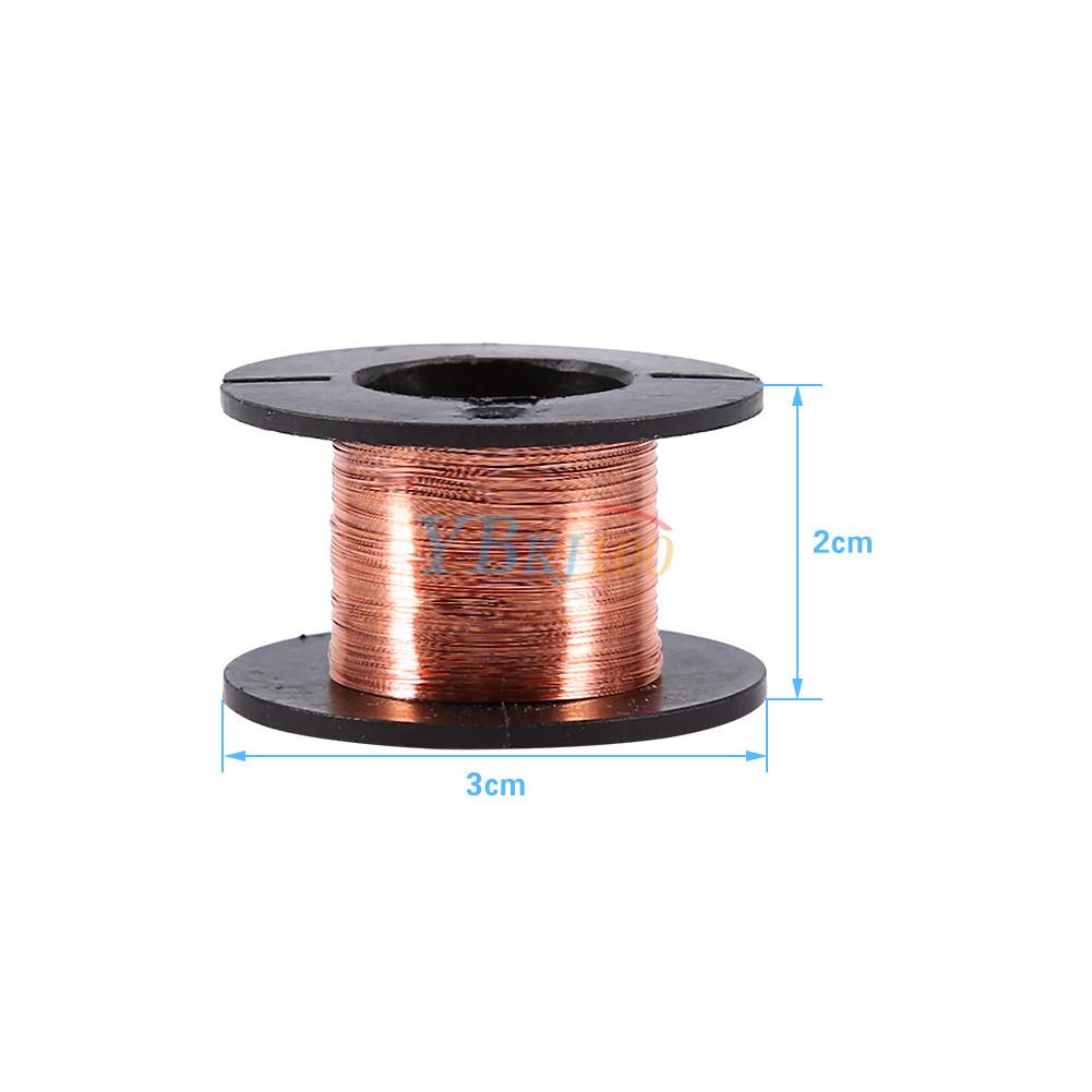 5pcs 0.1mm Copper Winding Soldering Solder Enamelled Repair Reel ...