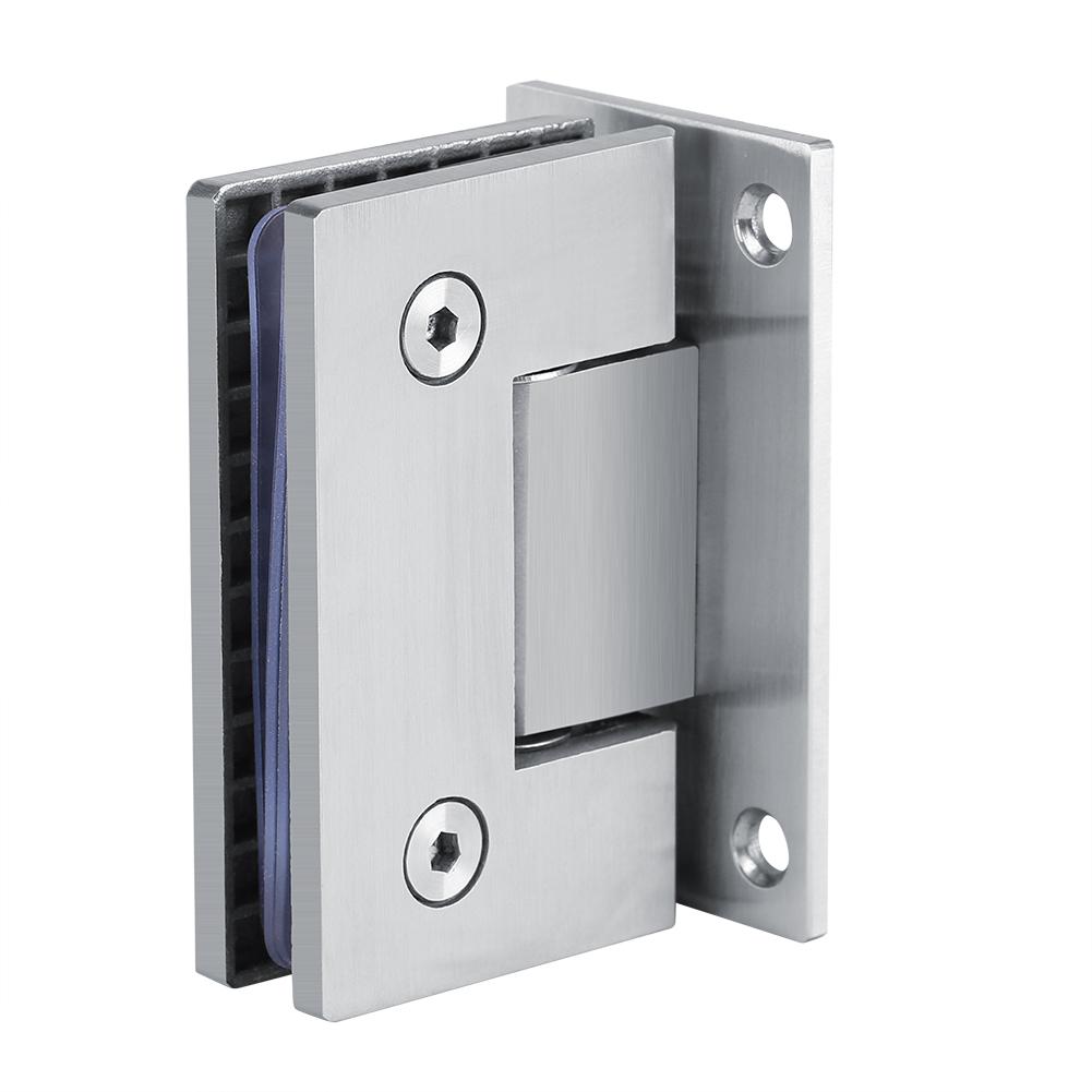8 10mm Shower Door Hinge Bracket Frameless Glass Shower