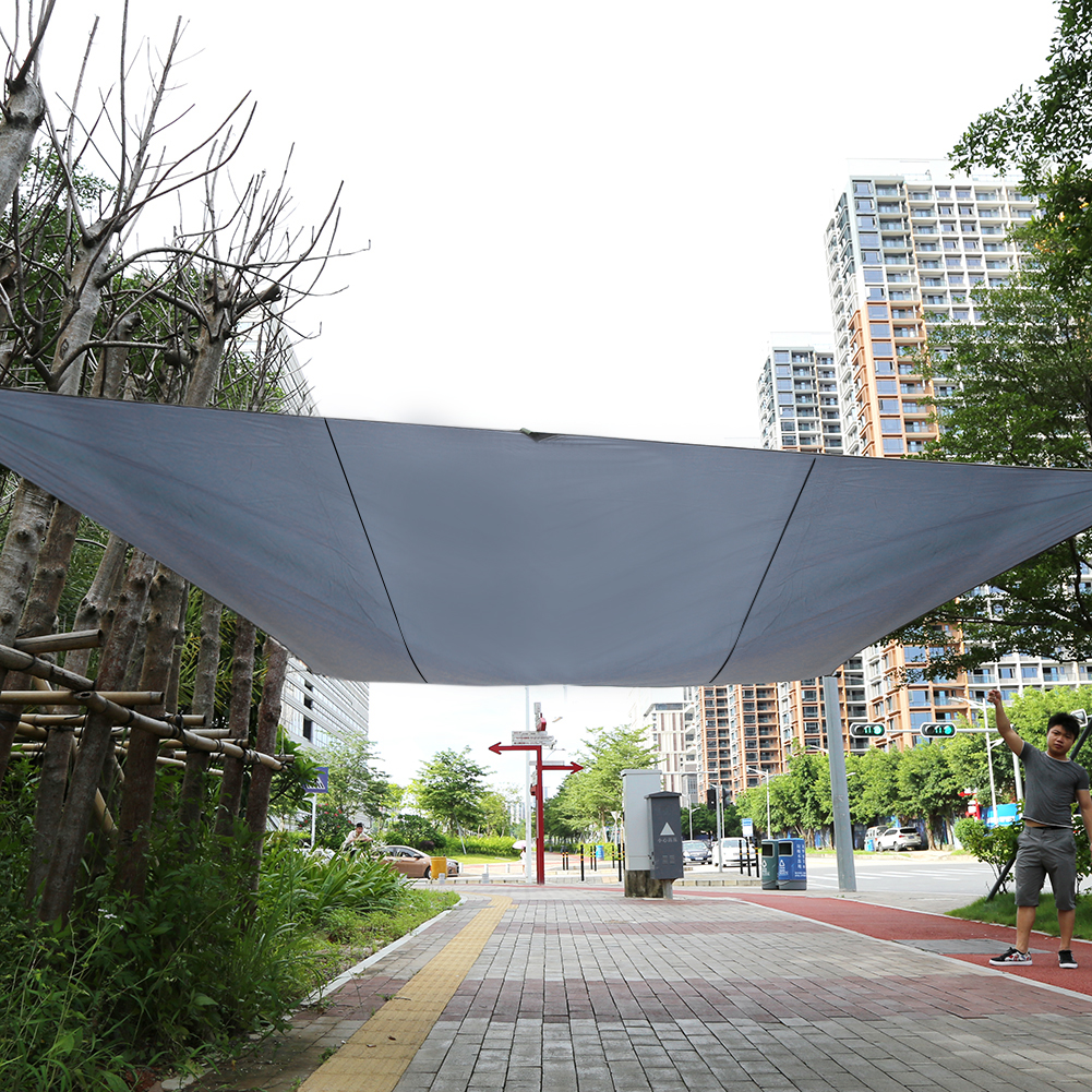 Outdoor Patio Sun Shade Sail Canopy Cover Pool Yard