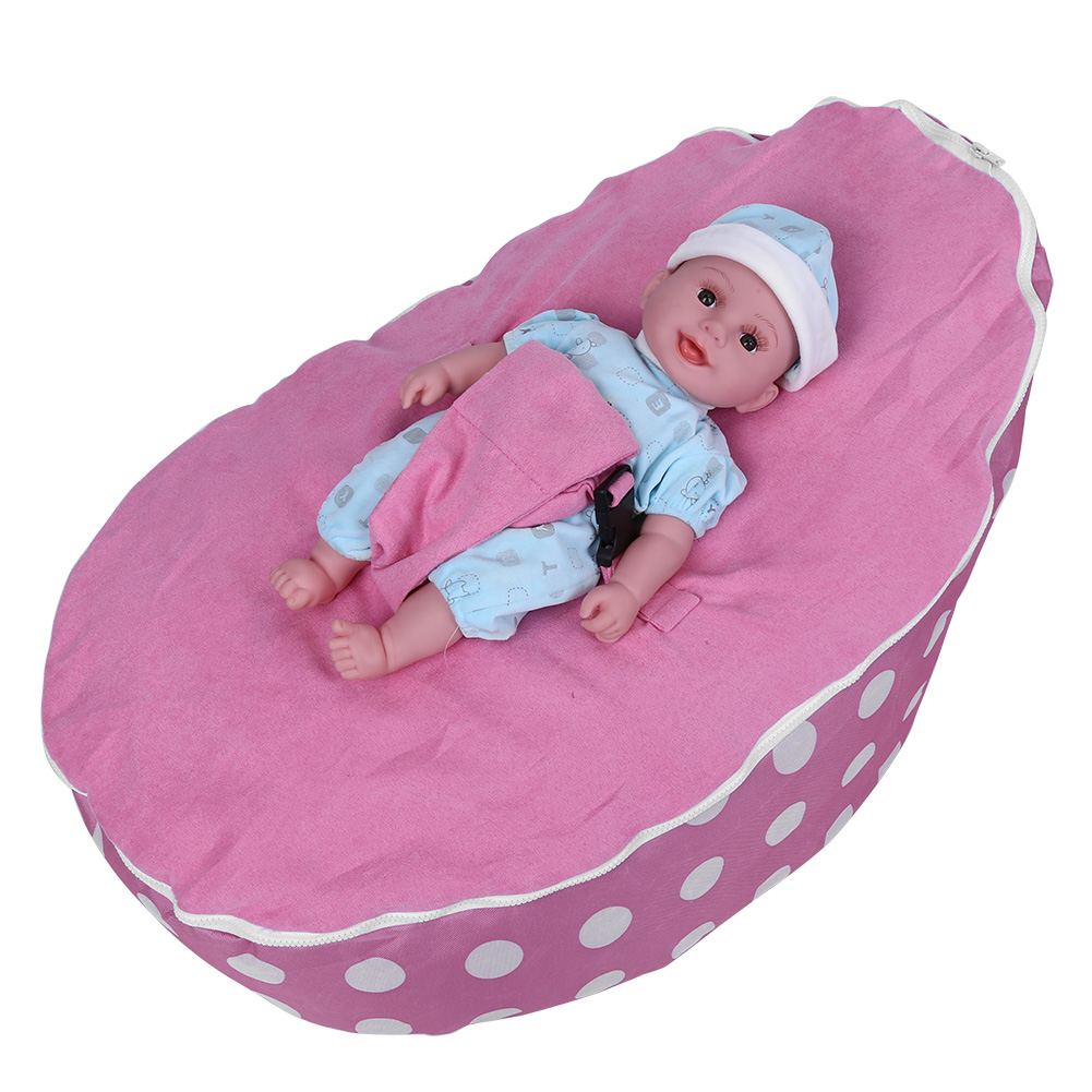 Brilliant Details About Newborn Baby Bean Bag Kids Sofa Chair Cover Soft Snuggle Bed Without Filling Lamtechconsult Wood Chair Design Ideas Lamtechconsultcom