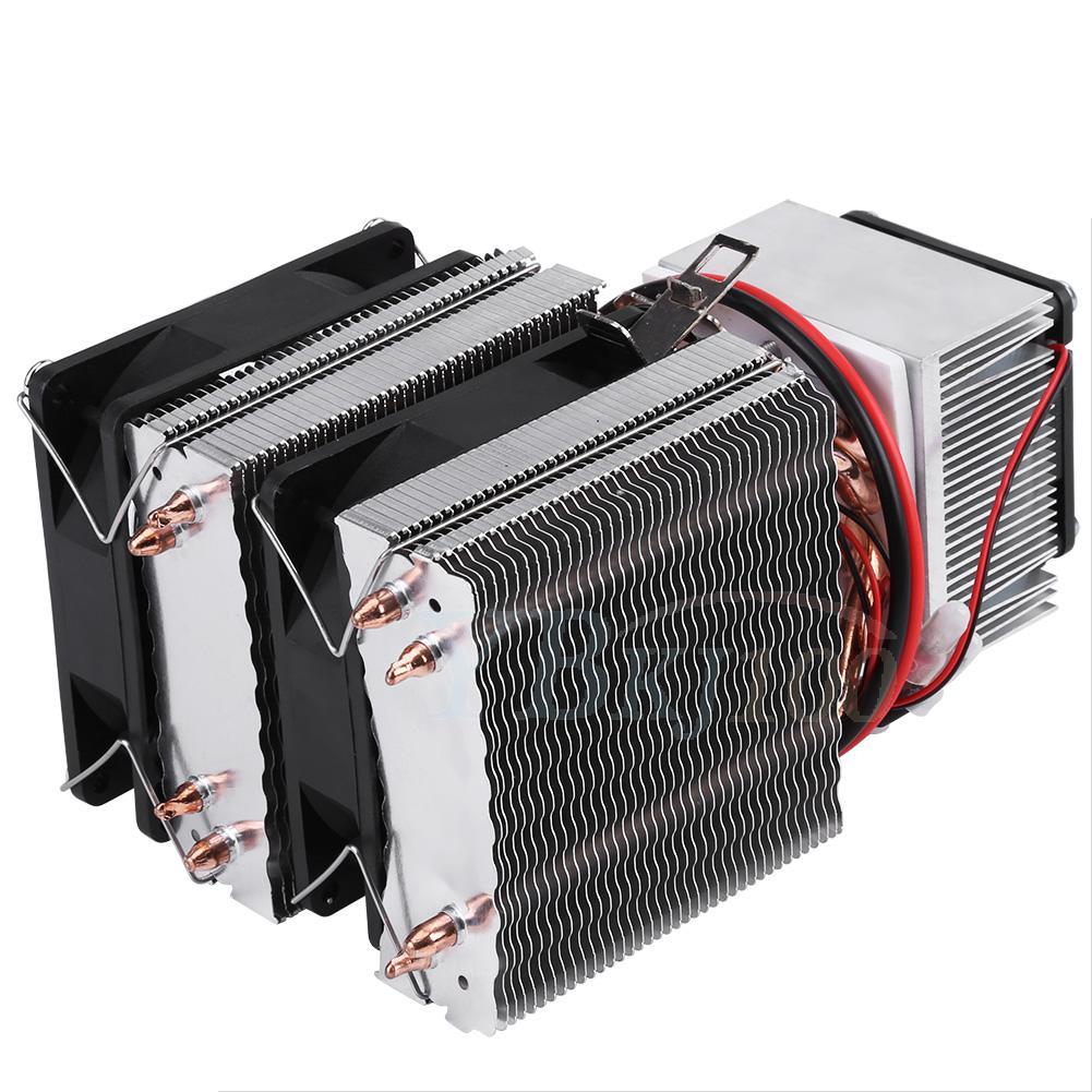 12v semiconductor cooler refrigeration air cooling device. Black Bedroom Furniture Sets. Home Design Ideas