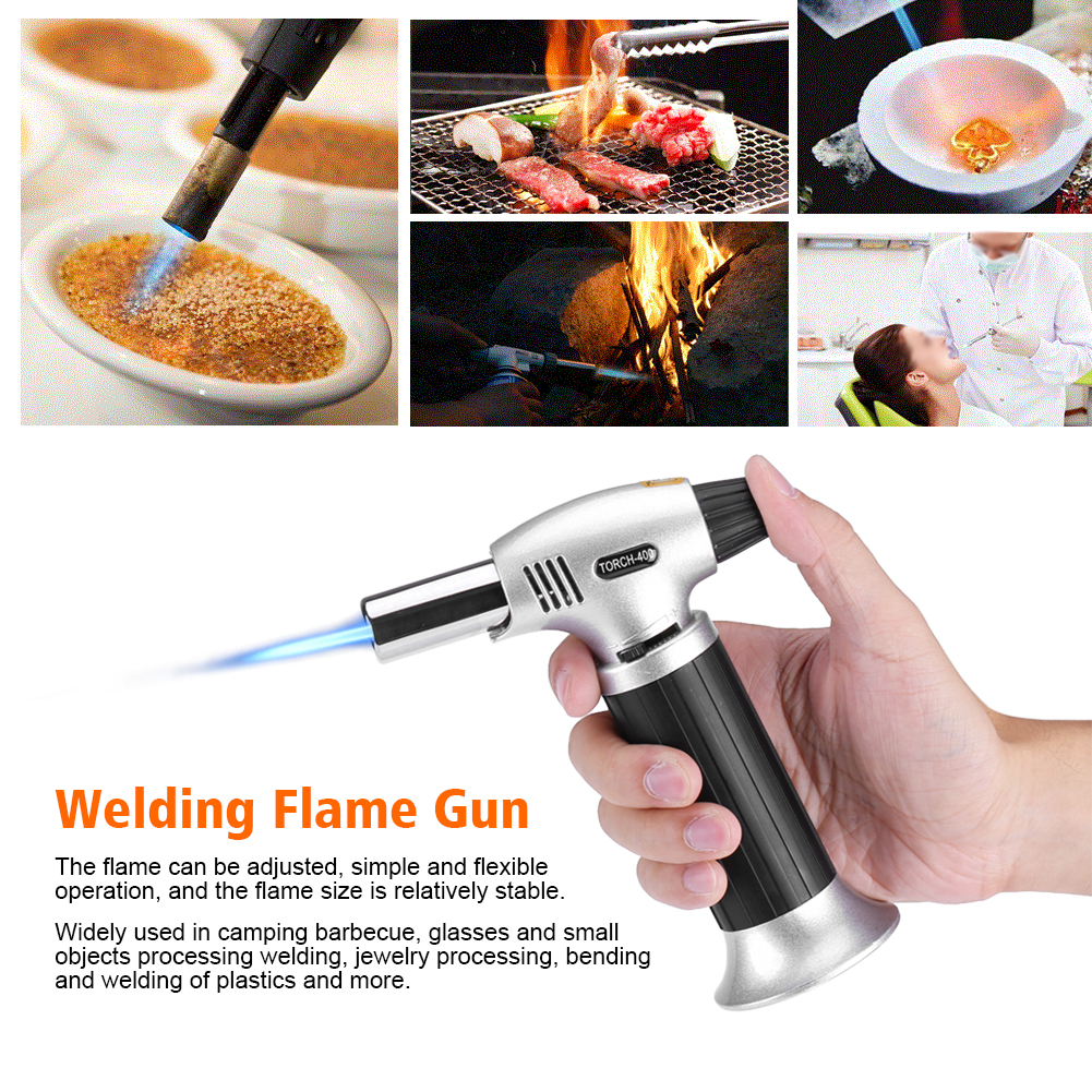 Professional Culinary Butane Torch Micro Creme Brulee Picnic Kitchen ...