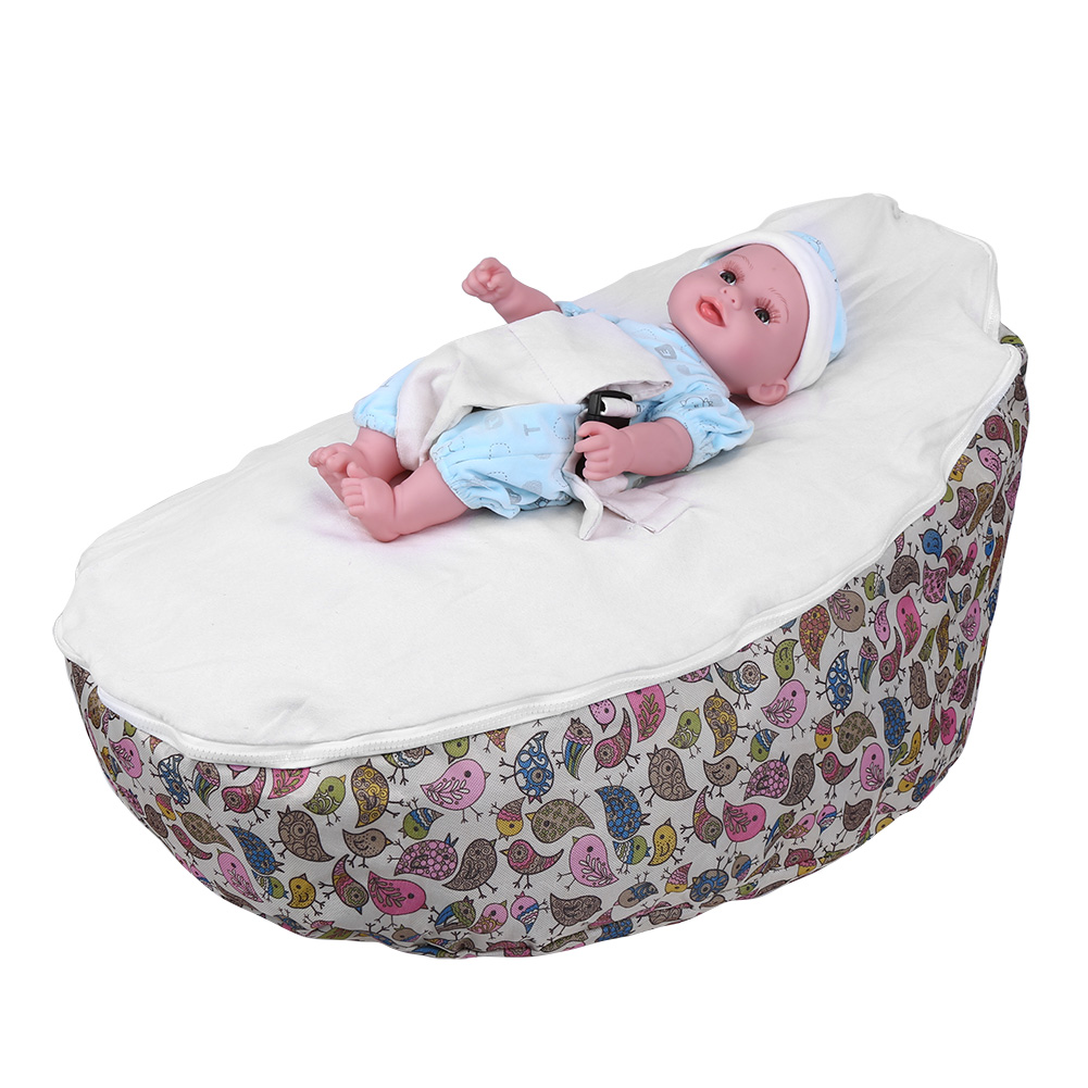 Infant Baby Bean Bag Harness Kids Toddler Chair Bouncer
