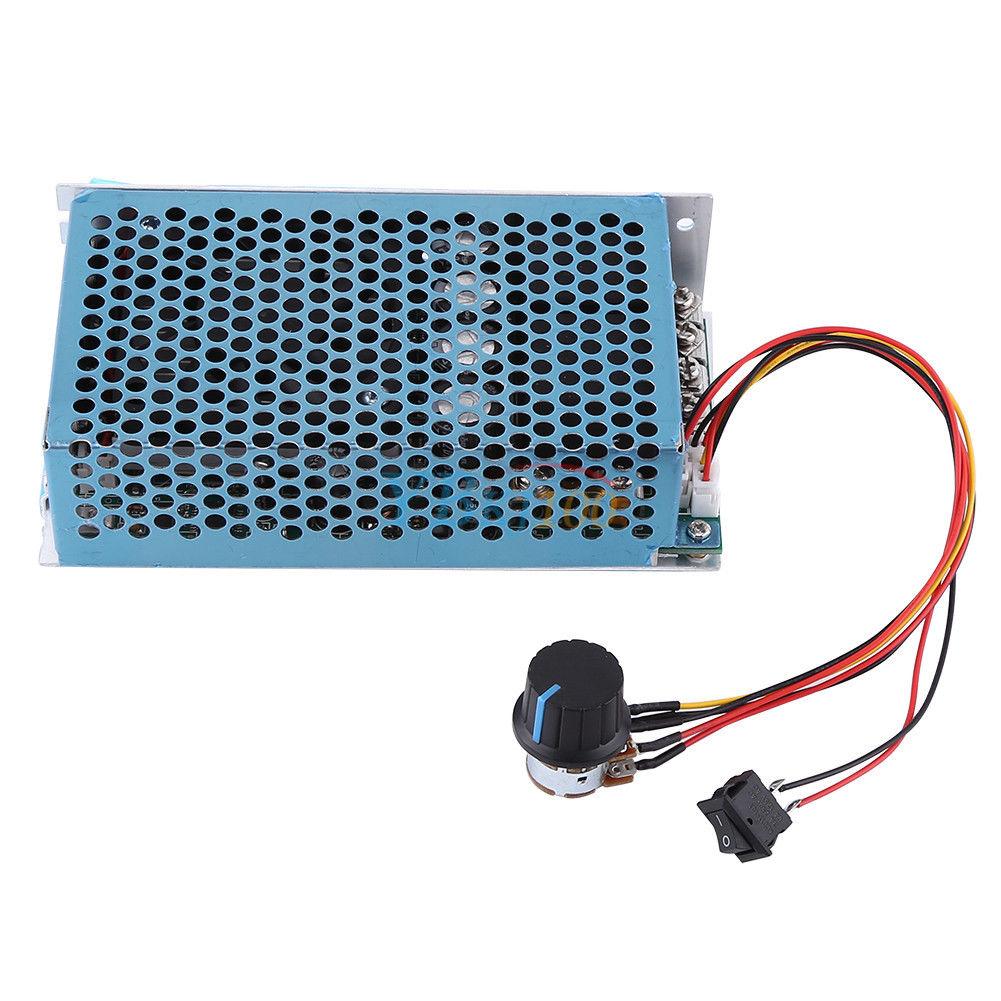 10-50V 100A 5000W Programable Reversible PWM DC Motor Speed Controller Driver LJ