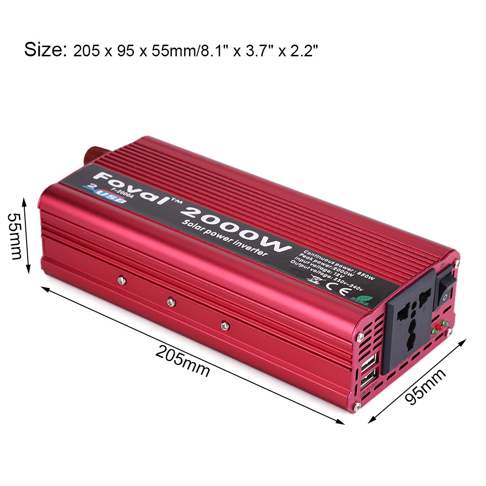 Power Inverter Car How Long To Use For