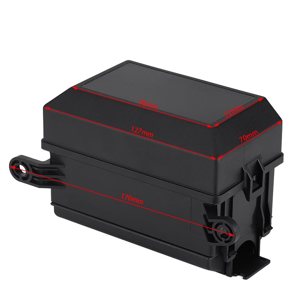 4 Pin Relay 6 Way Blade Fuse Socket Box For Car Auto Atv Prong Pigtail Pickup Ecm0034whs