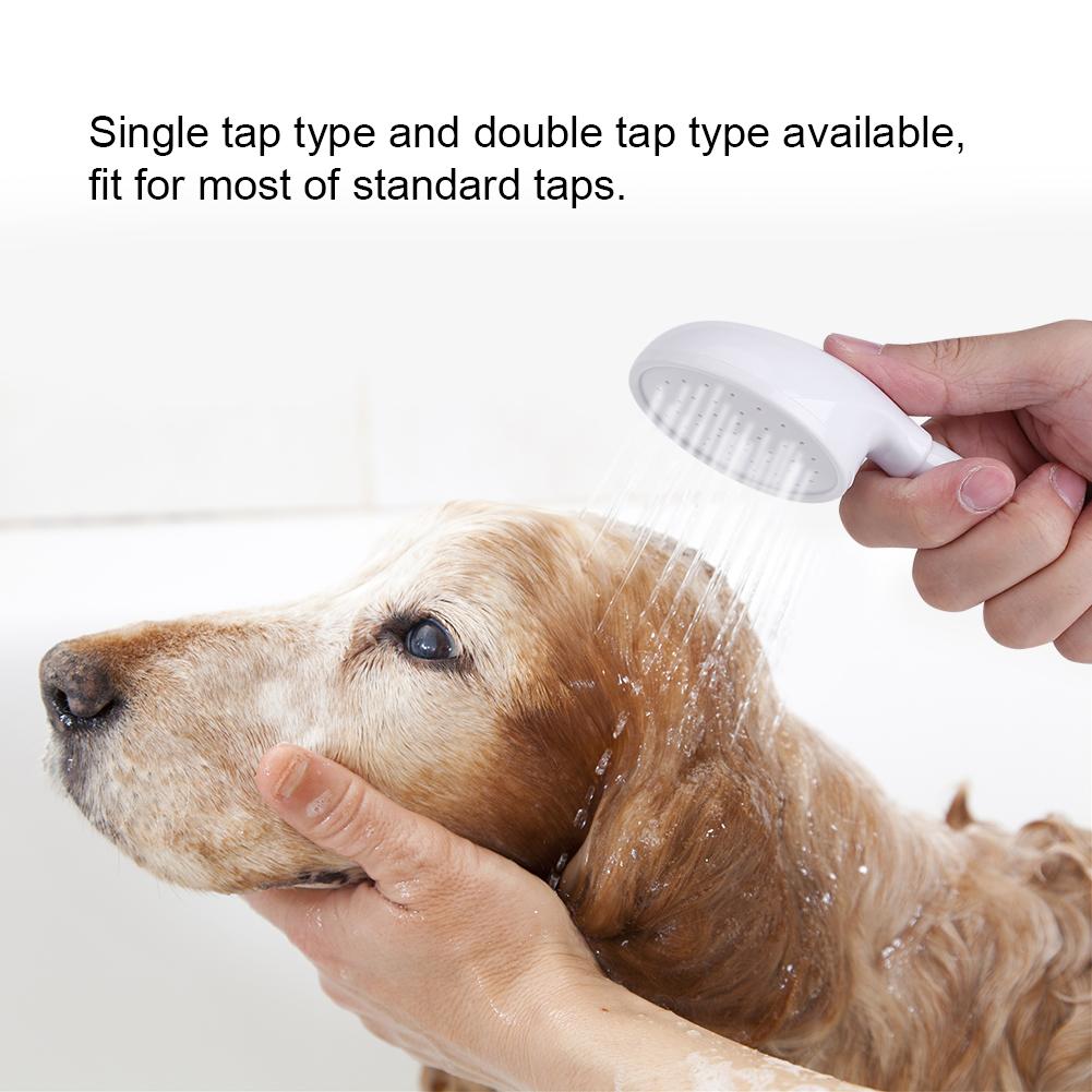 Pet Shower Head Hose Spray Bath Tub Sink Faucet Tap Fittin Washing ...