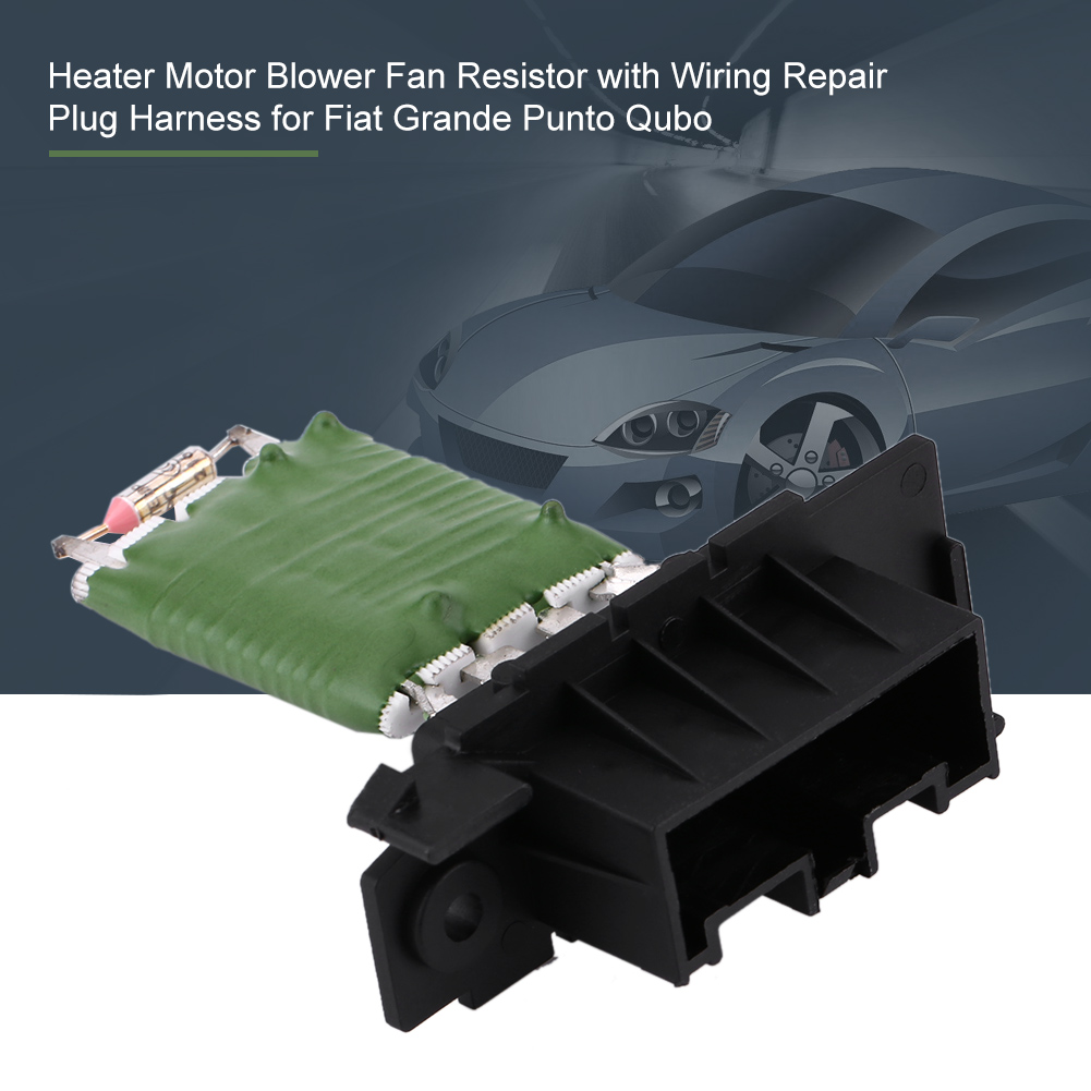 Heater Blower Motor Resistor Connector Wiring Harness Loom For Fiat Punto Evo