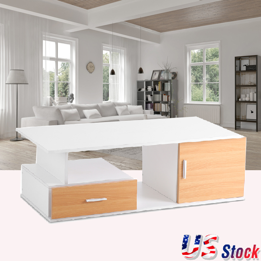 Home TV Cabinet Stand Living Room Entertainment Center with Drawer ...