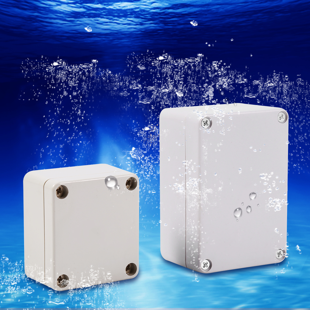 Outdoor Water Softener Enclosure: IP65/66 Waterproof Weatherproof Junction Box Plastic