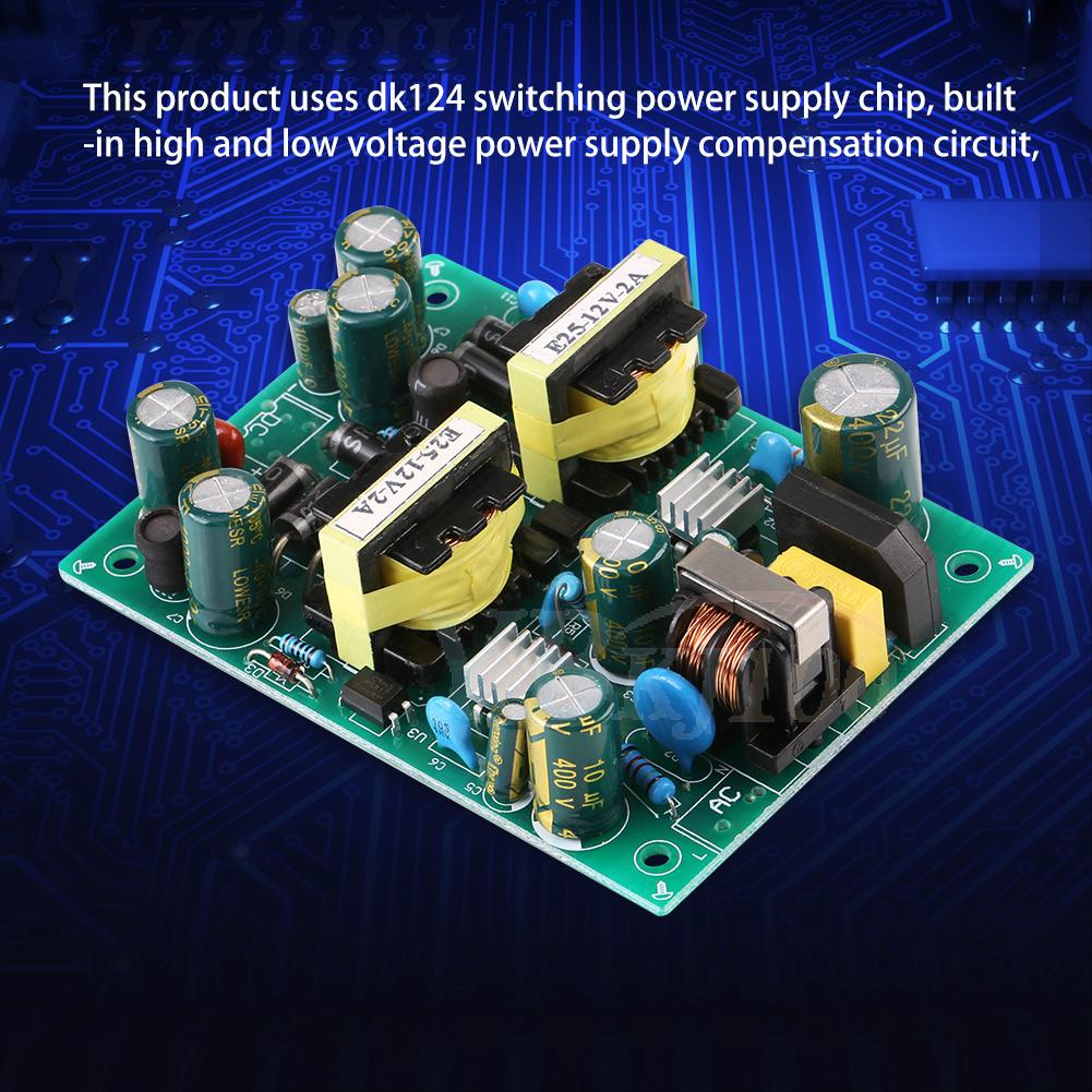 12v 4a 24v 2 48w Dual Switch Power Supply Module W Overload Circuit Protectors On Smps Protector Im