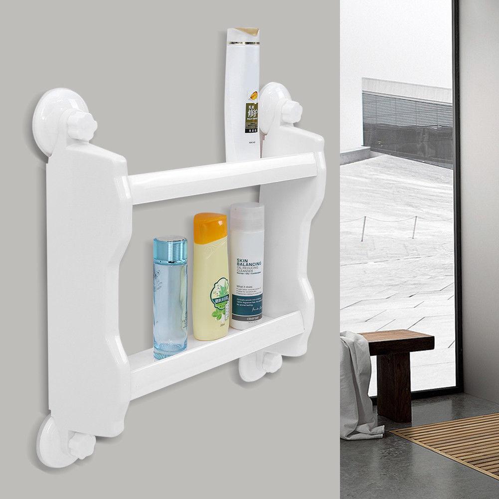badezimmer aufbewahrung organizer badregal duschkorb. Black Bedroom Furniture Sets. Home Design Ideas
