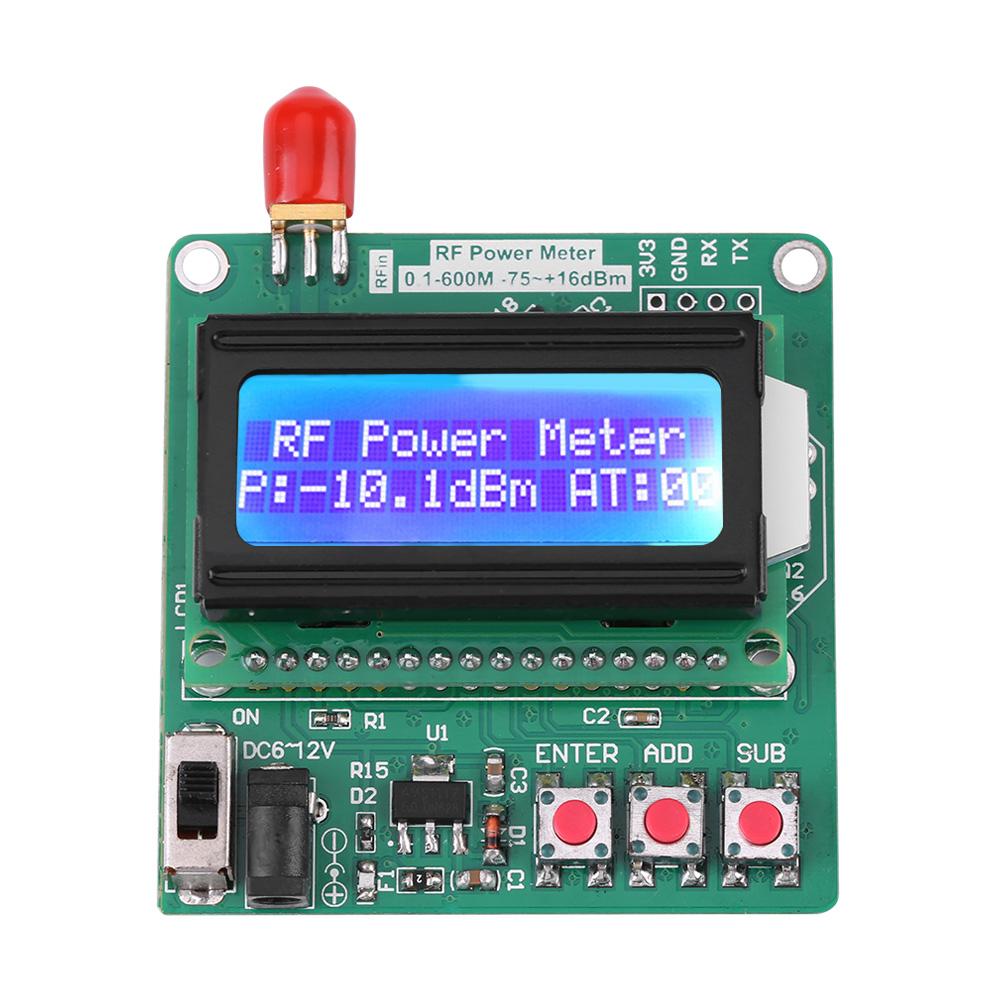 No Rf Digital Electric Meter : Digital lcd rf power meter dbm mhz radio